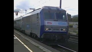 Trains en gare de Colmar (partie 1/3)