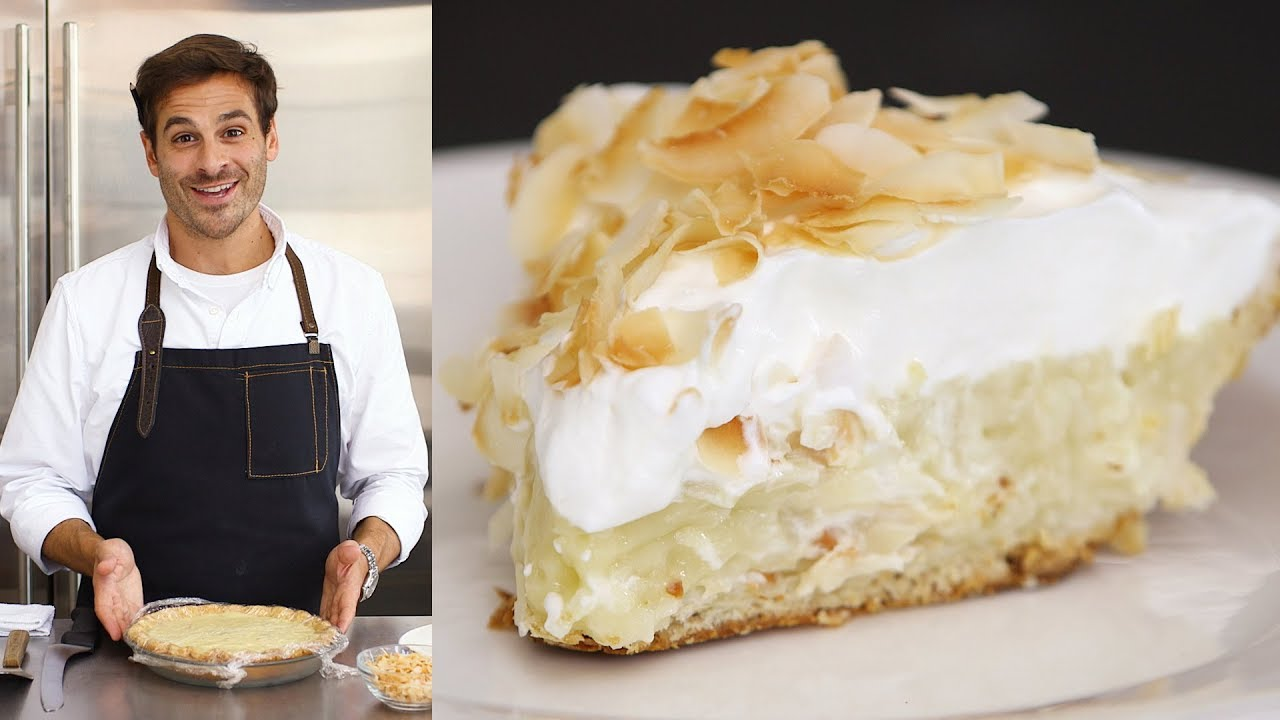 Download Foolproof Coconut Cream Pie  - Kitchen Conundrums with Thomas Joseph