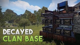 DECAYED CLAN BASE! - Rust SOLO Survival