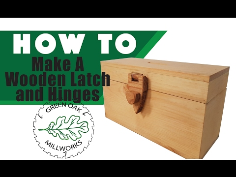 How to Make Wooden Hinges for a Piggy Bank