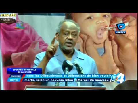 Djibouti: Son excellence Ismail Omar Guelleh lors de la journée nationale de la santé