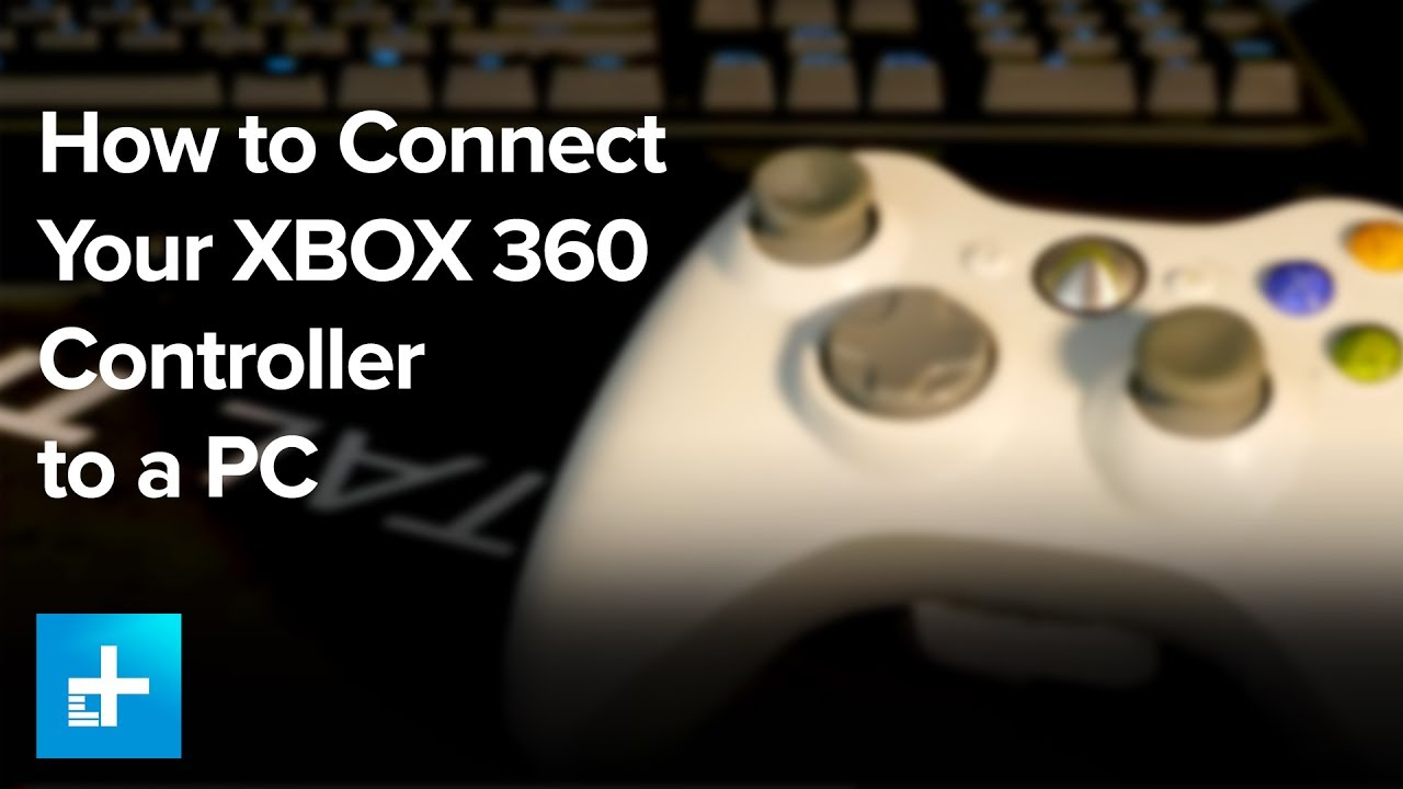 How To Connect Your Xbox 360 Controller To A Pc Youtube