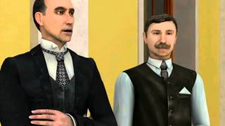 Sherlock Holmes: Secret of the Silver Earring Walkthrough part 1