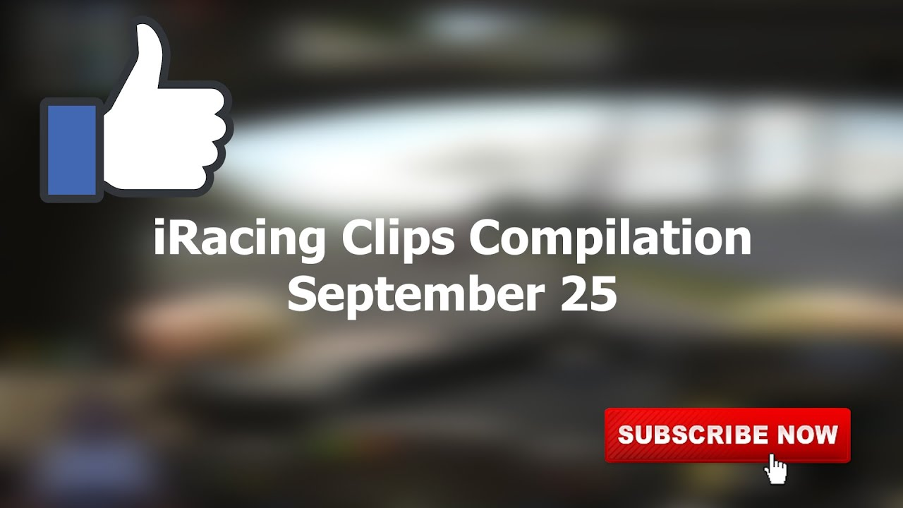 September 25   iRacing Clips Compilation