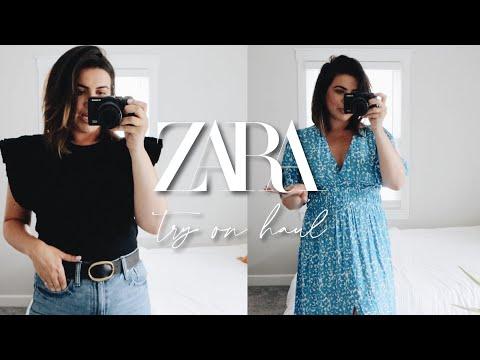 ZARA HAUL // Try On Summer 2020