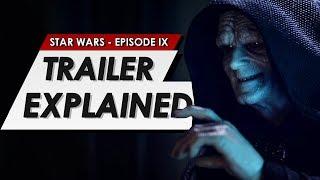 Star Wars: Episode 9: The Rise Of Skywalker: Official Trailer: Breakdown | Teaser Explained