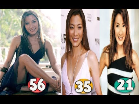 Michelle Yeoh ♕ Transformation From 21 To 56 Years OLD
