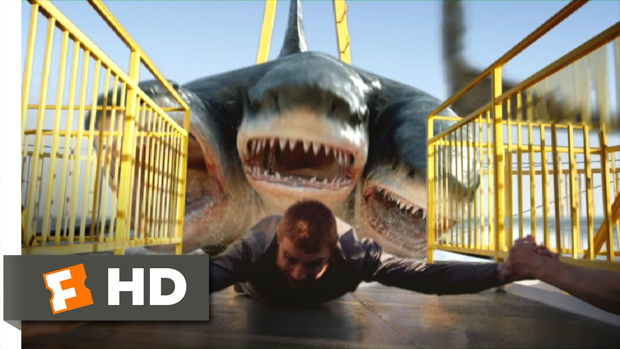 Download 3 Headed Shark Attack (6/10) Movie CLIP - All Aboard for Dinner (2015) HD