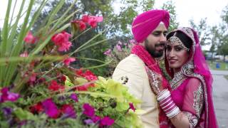 TJ VIDEO PRODUCTION INC  Punjabi  Wedding Highlights cinamatic