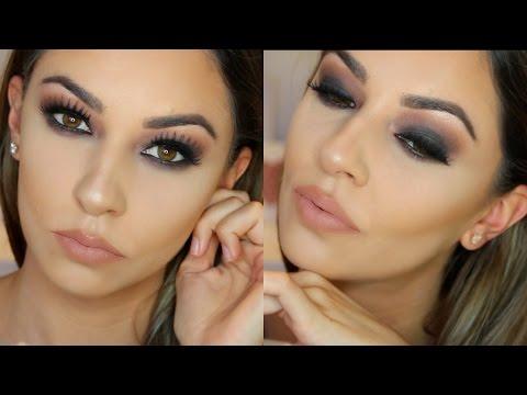 Eye makeup for hooded brown eyes