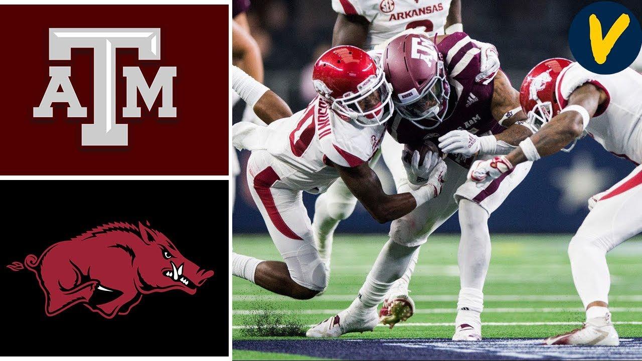 #23 Texas A&M vs Arkansas | Week 5 | College Football Highlights | 2019