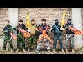 LTT Game Nerf War : special Mission Winter Warriors Nerf Guns Fight Criminal group Rocket