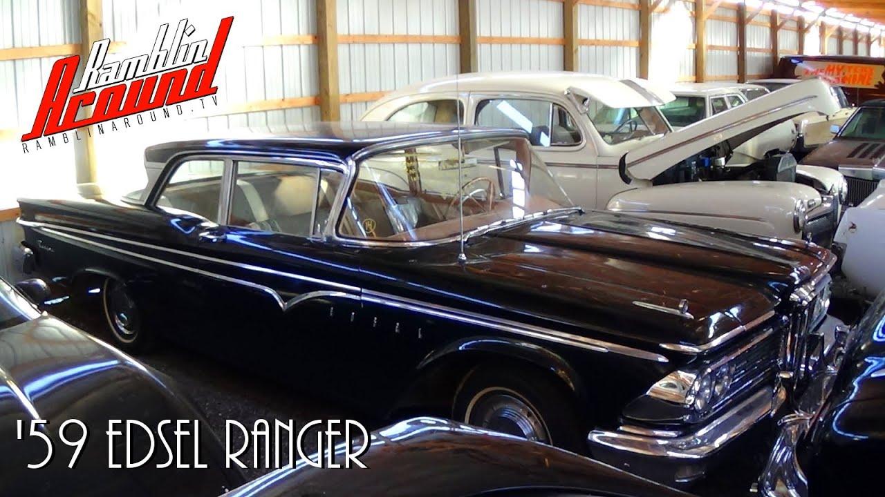 Rare 1959 Edsel Ranger 361 V8