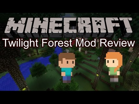 Minecraft Pocket Edition Mod Review - Twilight Forest Mod