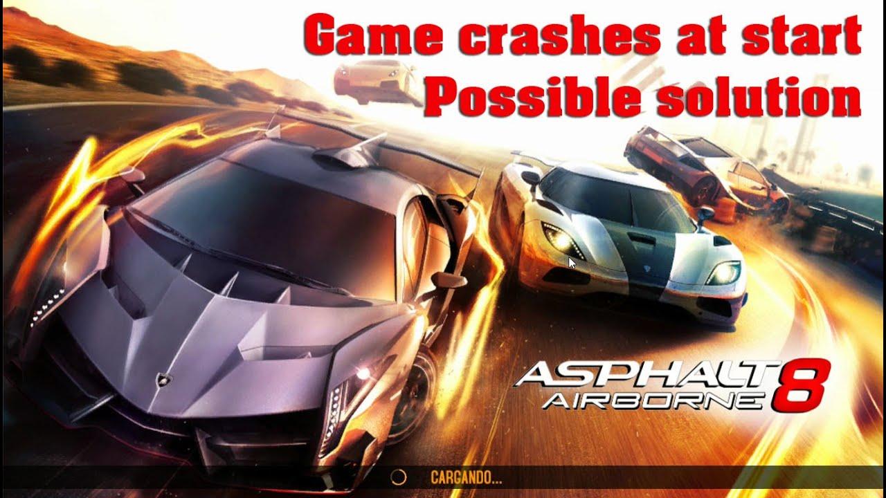 Asphalt 8 - Windows update, game crash at start (Possible solution)