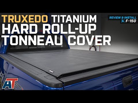 2015-2018 F150 Truxedo Titanium Hard Roll-Up Tonneau Cover Review & Install