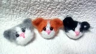 Котята - брожечки - вязание крючком