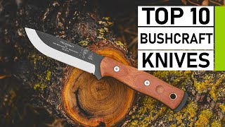 Top 10 Best Bushcraft Knives for Survival & Wilderness