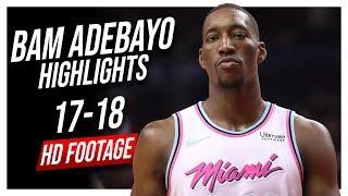 Heat C Bam Adebayo 2017-2018 Season Highlights ᴴᴰ
