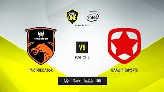 TNC Predator vs Gambit Esports, ESL One Hamburg 2019, bo5, game 5 [Adekvat \u0026 Mortalles]