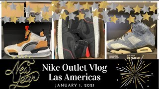 Propio agujero capa  Nike Factory Store Las Americas Vlog - New Year's Day 1.1.2021 - 30%OFF  Hash and Clearance Items - YouTube