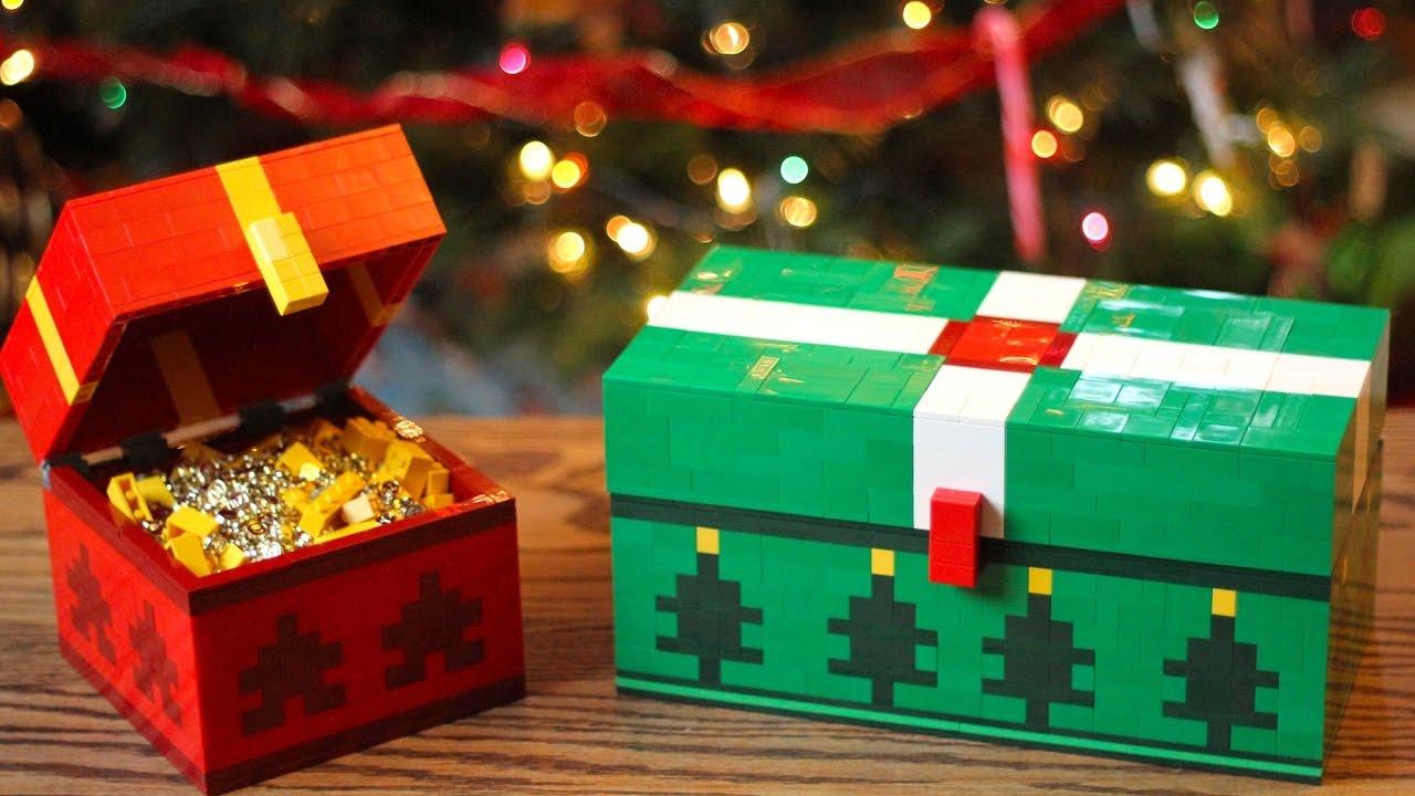 LEGO Christmas Chest - Minecraft - YouTube