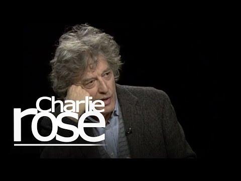 Tom Stoppard   Charlie Rose