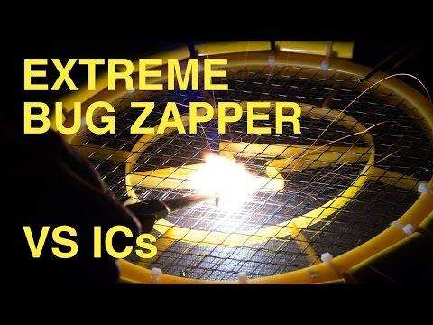 I made a bug zapper racket that isn't lame  100% custom electronics