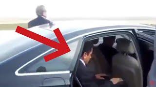 Muhsin Yazıcıoğlu arabada namaz kılıyor...