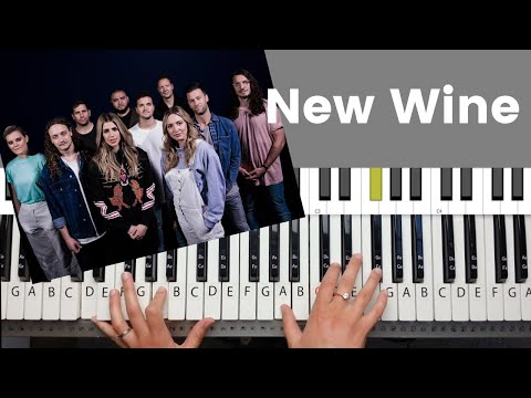 New Wine by Hillsong - Piano Tutorial and Chords
