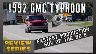 1992 GMC Typhoon Launch, Boost & Test Drive [4k] | Review Series