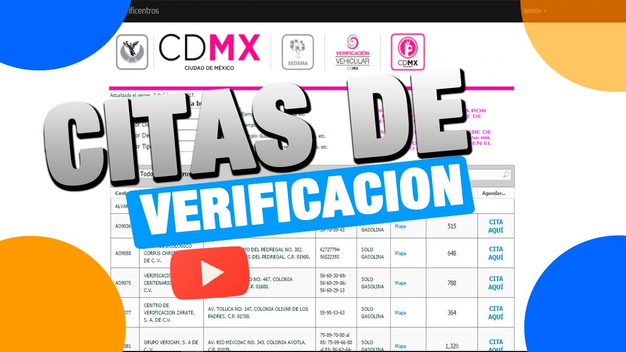 citas por internet para verificar cdmx