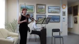 C. Коржавин. quot;Мелодияquot;для скрипки и фортепиано.  А Кохан/автор.