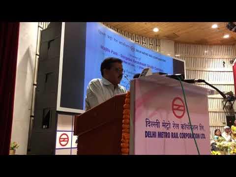 Delhi CM Arvind Kejriwal inaugurated section of Pink line of Delhi metro
