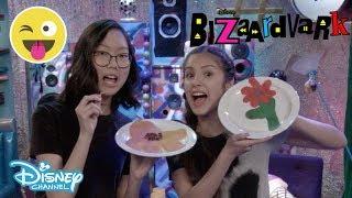 Bizaardvark | Pancake Art Challenge 🥞 | Official Disney Channel UK