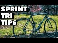 FIRST SPRINT TRIATHLON BEGINNER TIPS: 10 things that will make you better