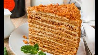 Вкуснейший ТОРТ РЫЖИК! МЕДОВИК! Рецепт вкусного торта Рыжик.Cake.