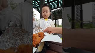 연우랑 치킨~!