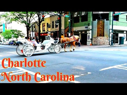 Tour Of Charlotte, North Carolina // Center City
