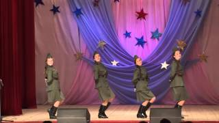 Мир музыки - Вокальный ансамбль Катюша, 13лет,  с  Брейтово Попурри военных песен
