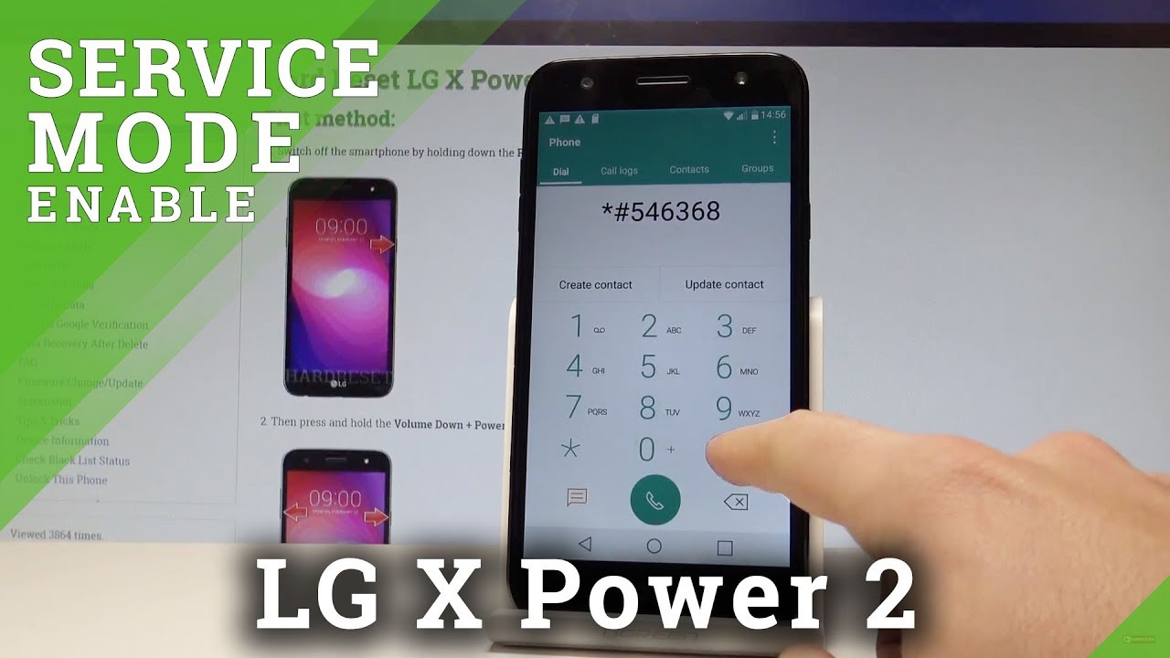 Codes LG X Power 2 - HardReset info