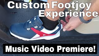 WORLD PREMIERE!!!! Garage Golf Custom Footjoy Experience Music Video and Footjoy MyJoy Giveaway!