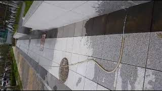 투수석재블록(몬드리안스톤) 투수 동영상
