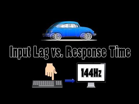 Minute Science: Input Lag vs. Response Time