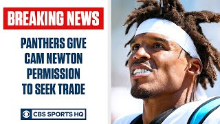 Panthers will look to TRADE Cam Newton | NFL Free Agency | CBS Sports HQ