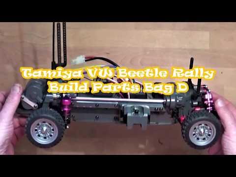 Tamiya VW Beetle Rally build Parts Bag D