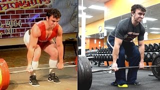 Determining Deadlift Stance Width (Conventional)