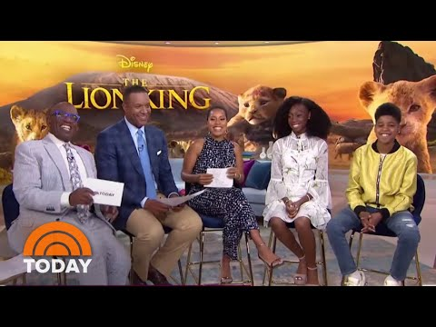 &39;The Lion King&39; Stars On Meeting Beyonce  TODAY