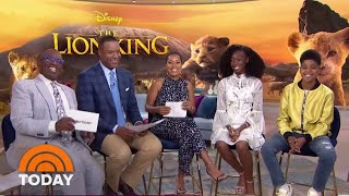 'The Lion King' Stars On Meeting Beyonce | TODAY Video