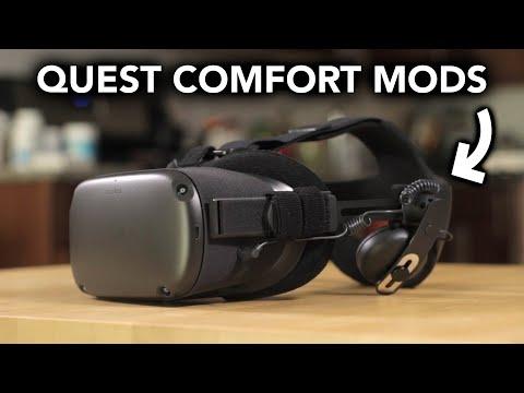 Oculus Quest Comfort Mods